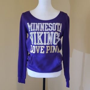 VS PINK MN Vikings sweatshirt